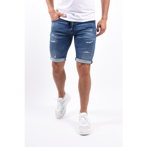 Y Jeans shorts jogger super stretch Blue