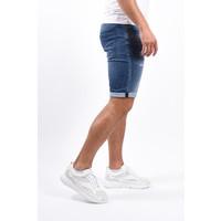 Y Jeans shorts jogger super stretch Blue