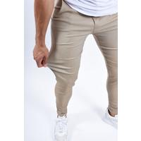 Y Stretch Pantalon Beige