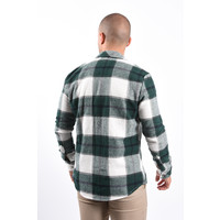 Y Checkered Jacket Green