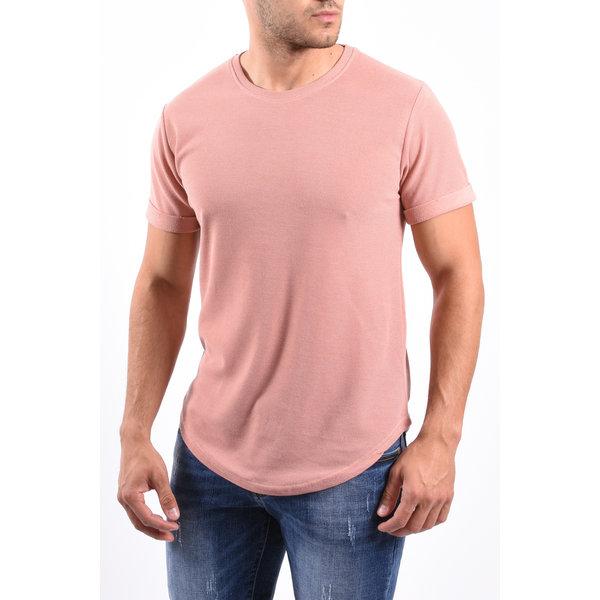 Y T-Shirt Pastel Pink