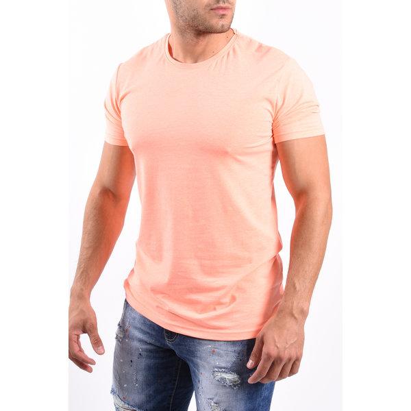 """Y T-Shirt """"FU"""" Orange"""