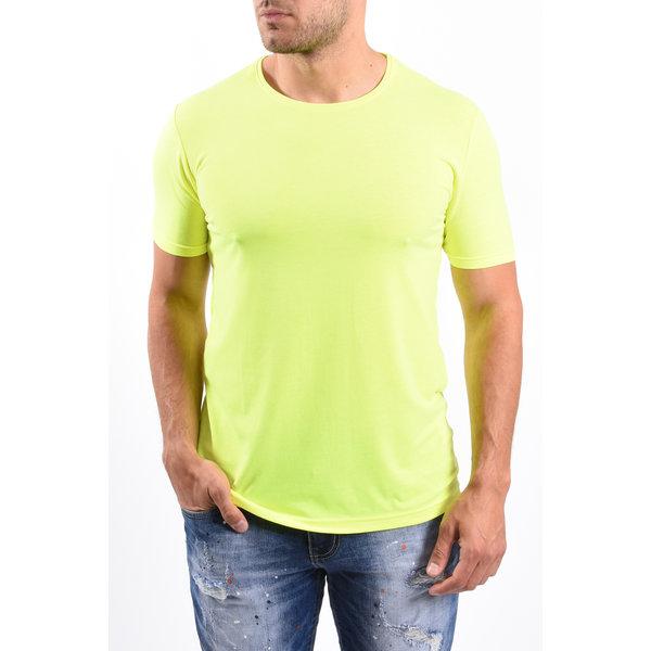 """Y T-Shirt """"FU"""" Yellow"""