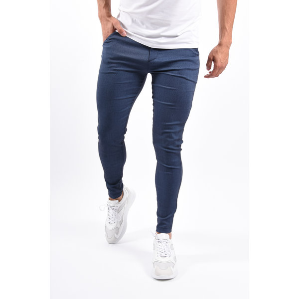 Y Stretch Pantalon Dark Blue