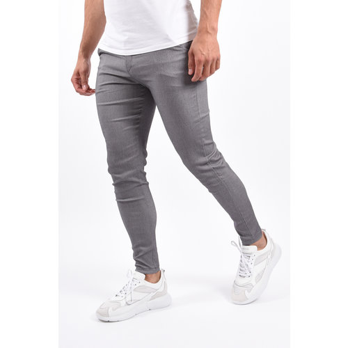 Y Stretch Pantalon Grey