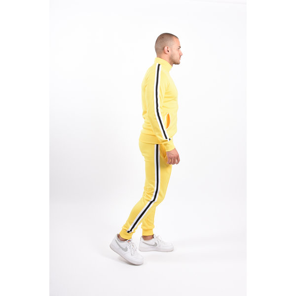 Y Tracksuit striped Yellow