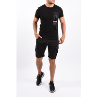 Y Two Piece Cargo Set Black