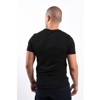 Y T-shirt Camo Pocket Black