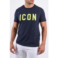 """Y T-Shirt """"icon"""" Dark Blue"""