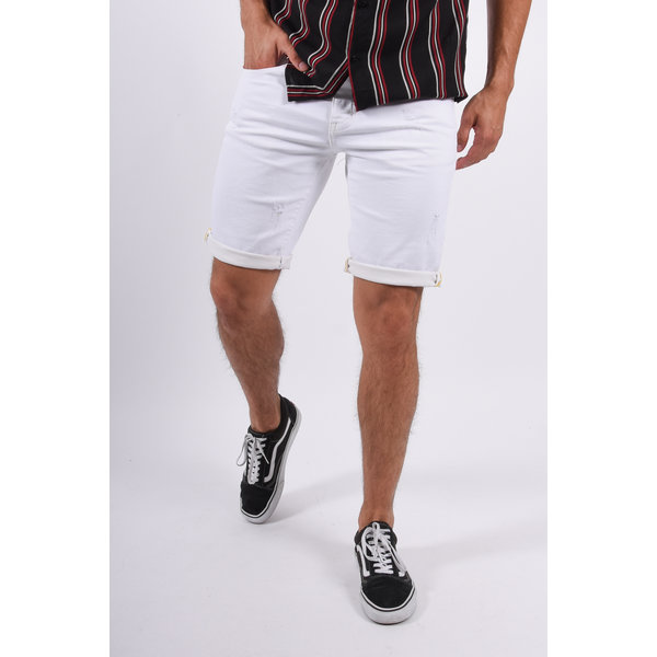 Y Jeans shorts slim fit White