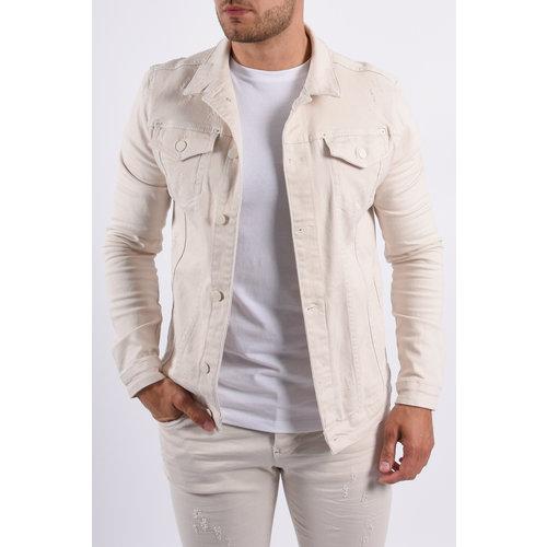 Y Jeans Jacket Beige