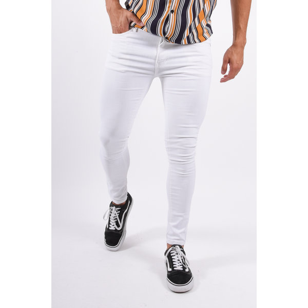 Y Super skinny stretch jeans White
