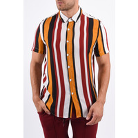 Y Summer Blouse Stripes white/red/yellow