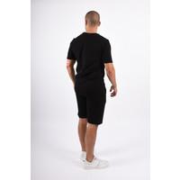 Y Two Piece Set / T-shirt+Shorts Black