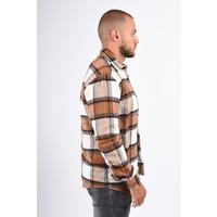 Y Flannel Shirt Mink