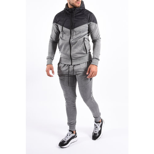 Y Tracksuit Future Grey / Black