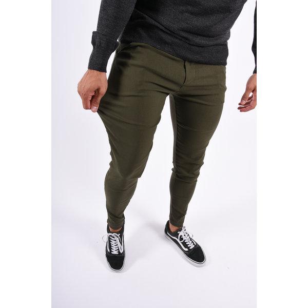 Y Stretch Pantalon Green