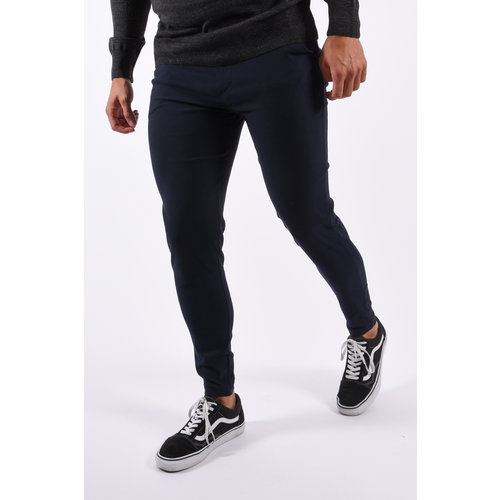 Y Stretch Pantalon Navy Blue