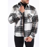 Y Flannel Jacket Black / White