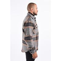 Y Flannel Jacket Grey