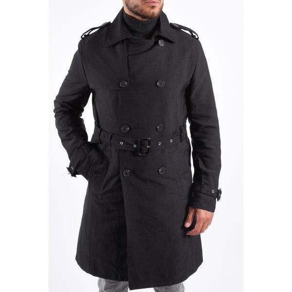 Y Trenchcoat Black