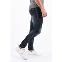 Y Skinny Fit Stretch Jeans Dark Blue  slightly splashed