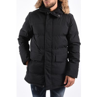 Y Winter Parka Brown Faux Fur - Black