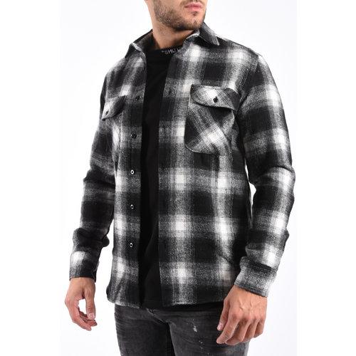 Y Flannel Shirt Black