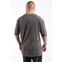 Y T-shirt Oversized 'forget pain' 93059 Grey Washed