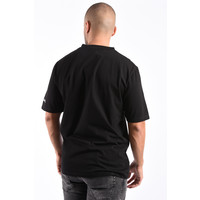 Y T-shirt 'Shut up' Loose fit Black
