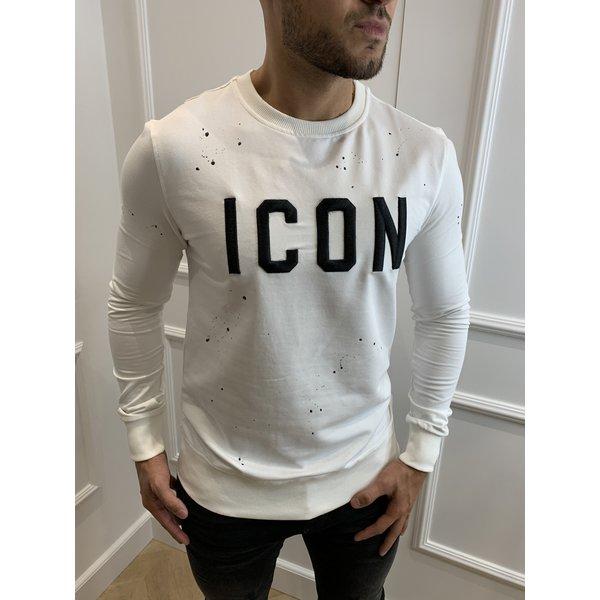 "Y Sweatshirt ""icon"" White"