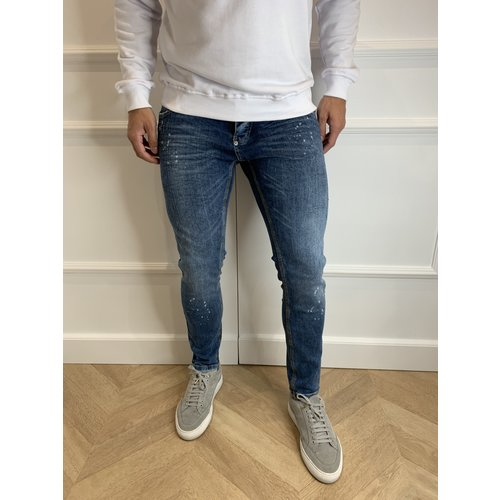 Y Skinny fit stretch jeans Basic Blue Splashed
