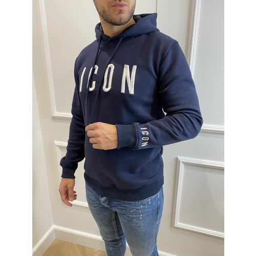 "Y Fleece Hoodie ""icon"" Dark Blue"