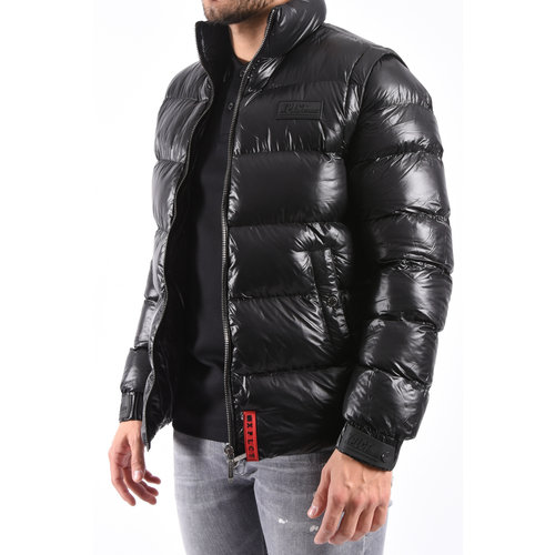 XPLCT XPLCT Studios Shaq Bodywarmer Jacket - Afneembare Mouwen Black