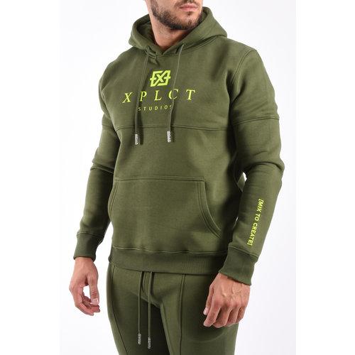 XPLCT XPLCT Studios Brand Hoodie – Army