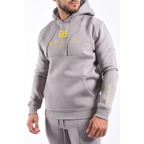 XPLCT XPLCT Studios Brand Hoodie – Grey