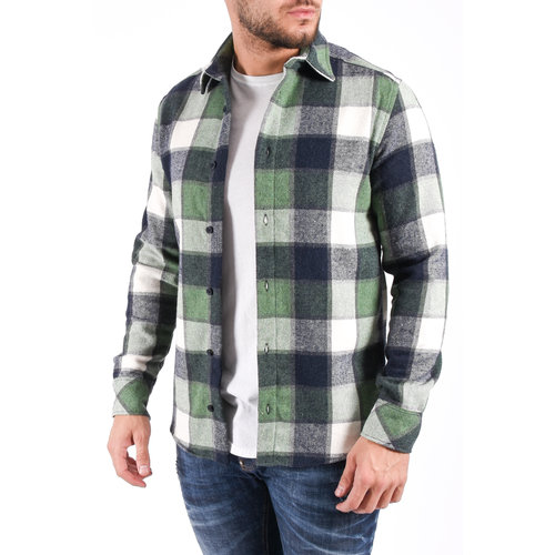 "Y Flannel shirt ""lennox"" UNISEX green"