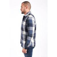 """Y Flannel shirt """"lennox"""" UNISEX Blue"""