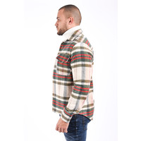 Y Flannel Jacket 4131 Green