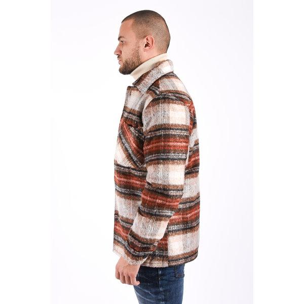 Y Flannel jacket unisex Camel