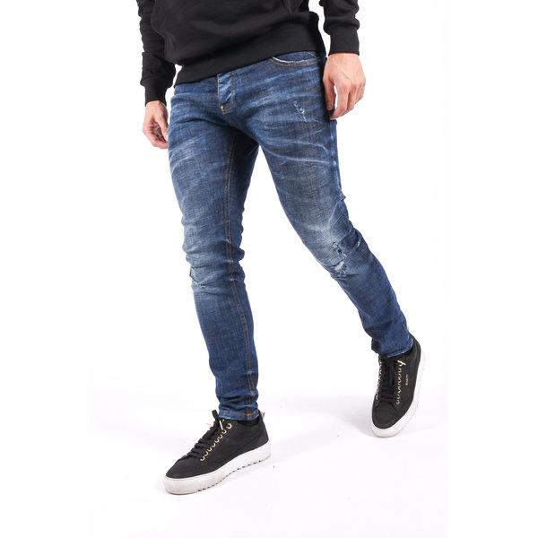 "Y Skinny fit stretch jeans ""lucas"" Blue"