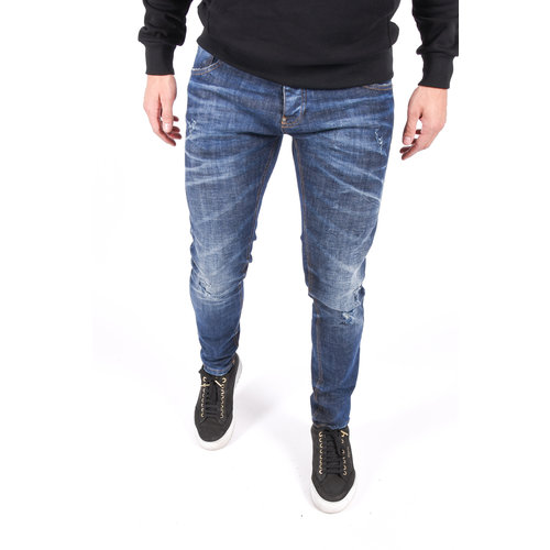 "Y Skinny fit stretch jeans ""lucas"" Blue"