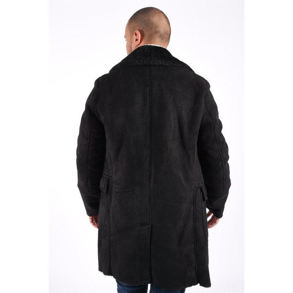 "Y Winter Coat ""logan"" Black on Black"