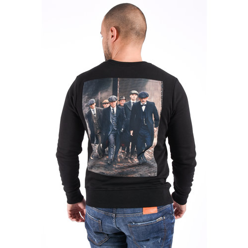 "Y Sweater ""blood brothers""  Black"