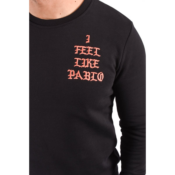 "Y Sweater ""i feel like pablo""  Black"