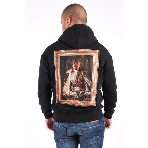 "Y Hoodie ""all eyez on me"" Black"