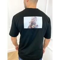 "Y AH T-shirt ""pop smoke"" Unisex Black"