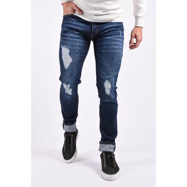 Y Skinny fit stretch jeans lang Blue