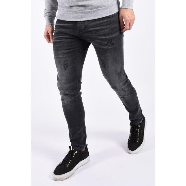 """Y Skinny fit stretch jeans """"rider473"""" Dark grey"""
