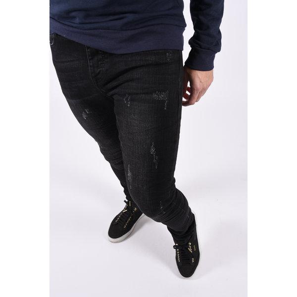 """Y Skinny fit stretch jeans """"mason""""  Black"""